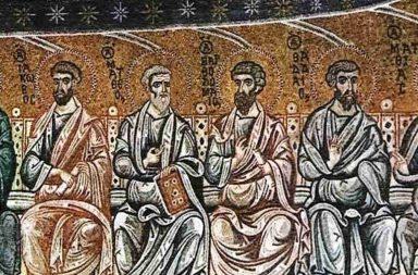 Abbazia di San Nilo, mosaici