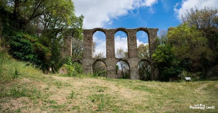 Antica Monterano - Acquedotto del XVII secolo