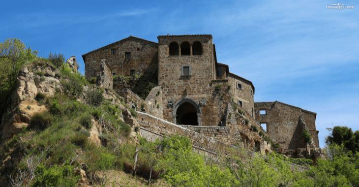 Le case di Civita di Bagnoregio