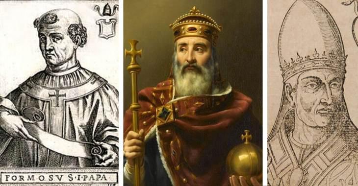 Papa Formoso, Carlo Magno imperatore d'Occidente, papa Stefano V