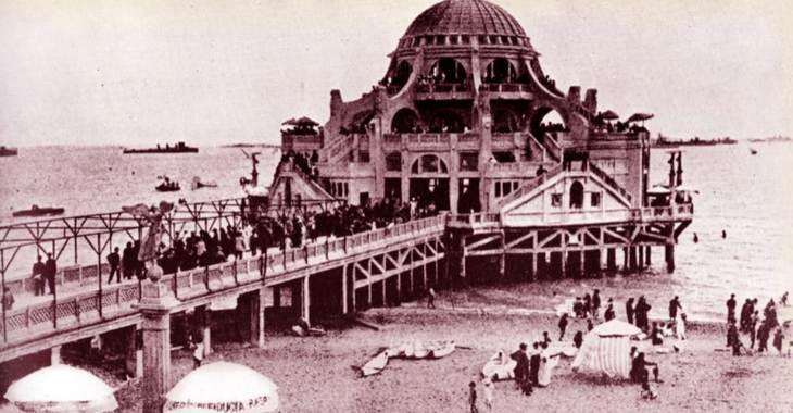Stabilimento di Ostia nel 1924