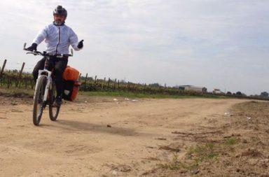 In bici verso Santiago
