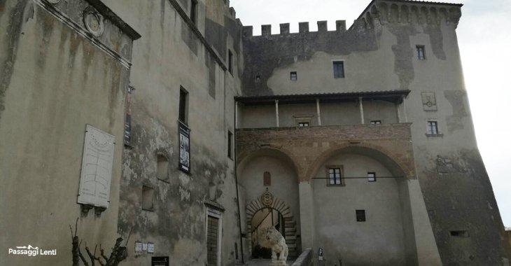 Pitigliano. Particolare del centro storico