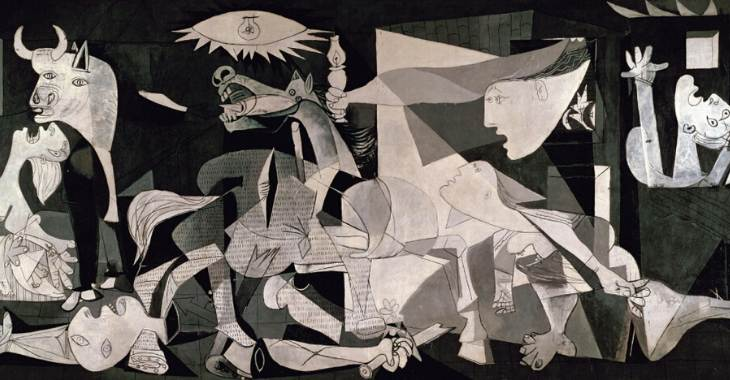 """""""Guernica"""" di Pablo Picasso"""