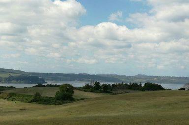 Il lago di Bracciano dalla ciclovia dei laghi