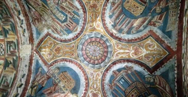 Cripta di Anagni, affresco