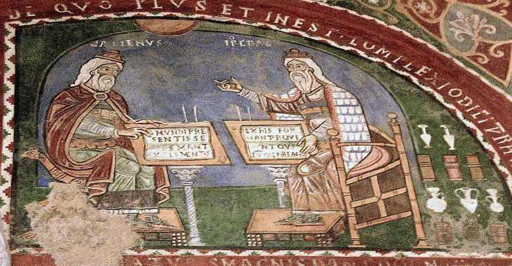 Cripta di Anagni, particolare