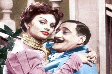 Totò e Sophia Loren