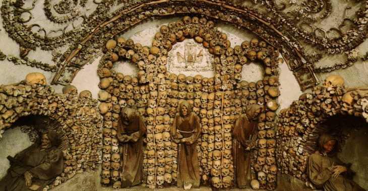 Cripta dei Cappuccini a Via Veneto a Roma