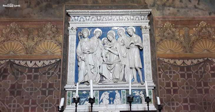 Terracotta invetriata di Della Robbia