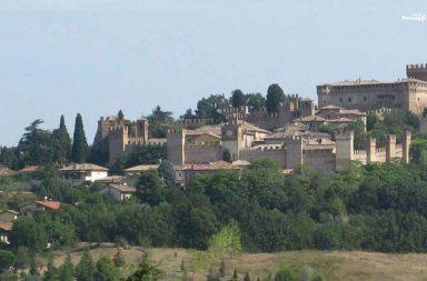 ll castello di Gradara nelle Marche