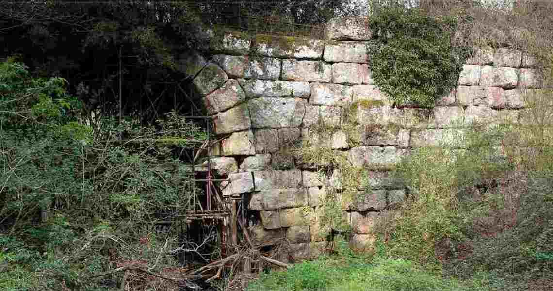 Manziana, ponte del Diavolo