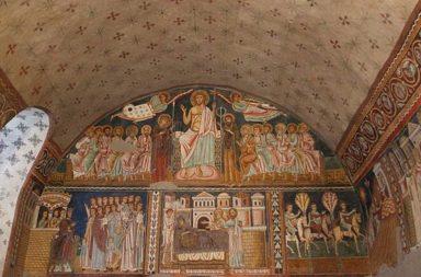 Basilica dei Santi Quattro Coronati, affreschi dell'oratorio