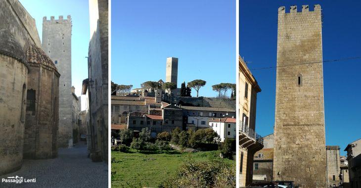 Scorci del centro storico di Tarquinia