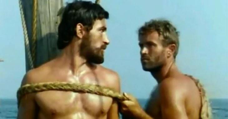 Una sequenza tratta dallo sceneggiato televisivo Odissea (1968)
