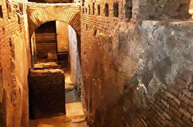 Vicus Caprarius, Roma sotterranea
