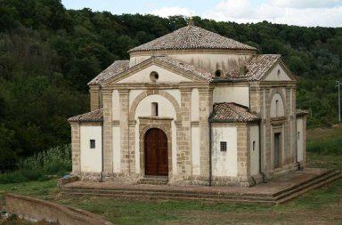 Cellere. La chiesa di Sant'Egidio realizzata da Antonio da Sangallo Il Giovane
