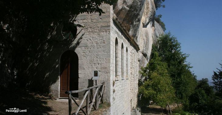L'Eremo di Sant'Onofrio a Serramonacesca, in Abruzzo