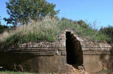 Necropoli di Cerveteri, tomba