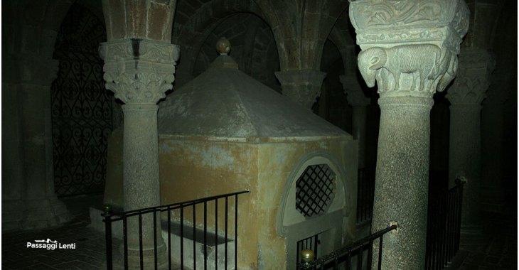 Acquapendente, il sacello nella Cripta della Basilica del Santo Sepolcro