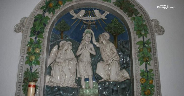 Terracotta di Andrea nella Robbia a Santa Fiora