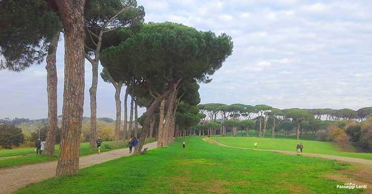 Villa Pamphili, il parco