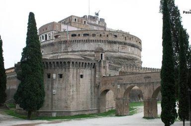 Passetto di Borgo, Castel S. Angelo