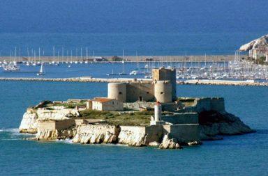 Conte di Montecristo, veduta della prigione-fortezza nota come il Castello d'If