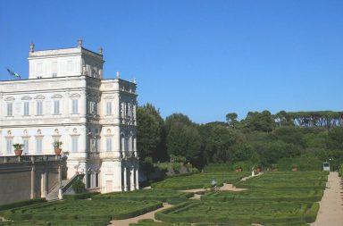 Il Casino del Bel Respiro a Villa Pamphili