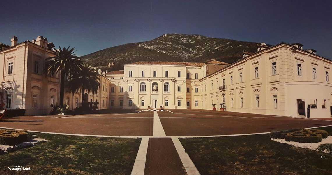 Belvedere di San Leucio a Caserta e Ferdinandopoli, la