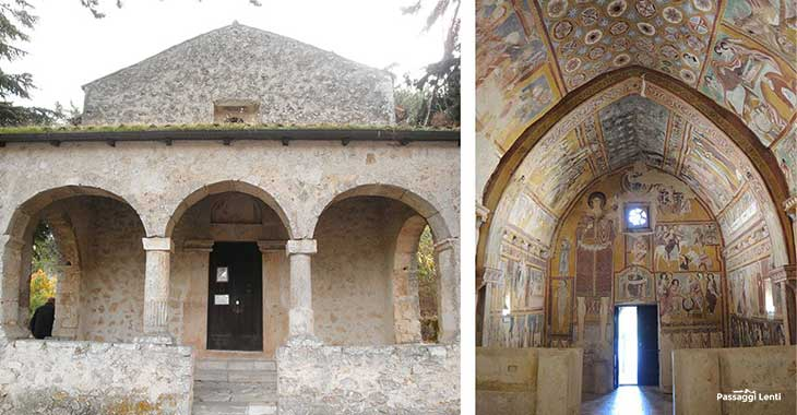 Bominaco, oratorio di San Pellegrino
