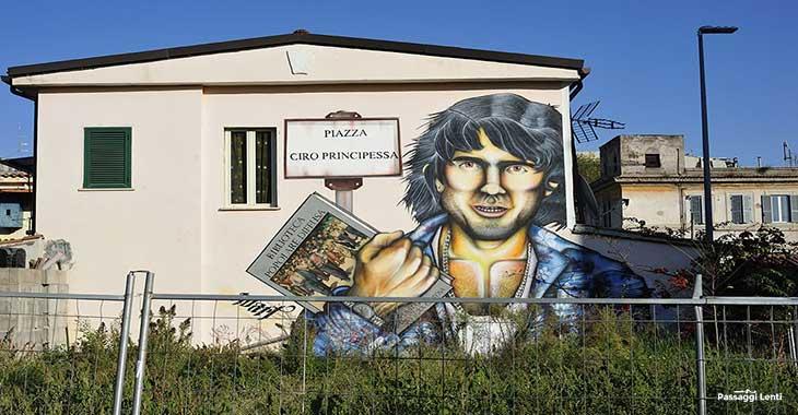 Il Murale dedicato a Ciro Principessa a Certosa