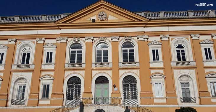 Complesso monumentale di San Leucio, il palazzo degli Acquaviva