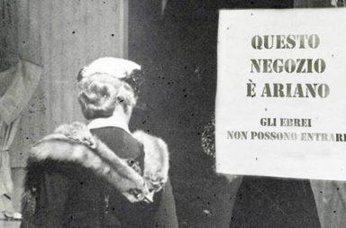 Leggi razziali in Italia, cartello antigiudaico