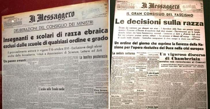 Leggi razziali in Italia