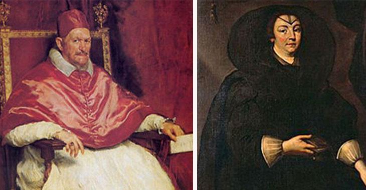Innocenzo X e Olimpia Maidalchini, detta la Pimpaccia