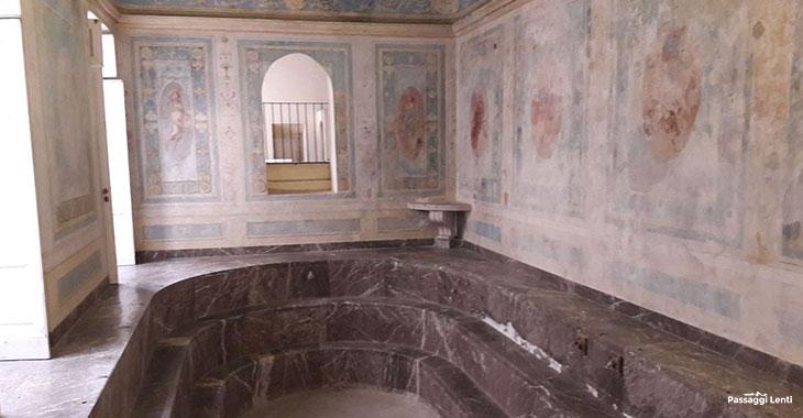 Complesso Monumentale di San Leucio. Il Bagno di Maria Carolina