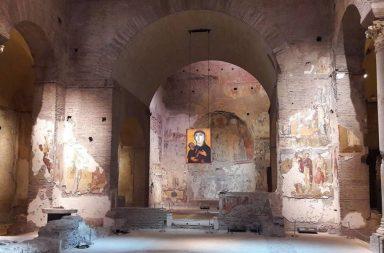 Interno di Santa Maria Antiqua