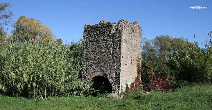 Parco della Caffarella, la Torre Valca