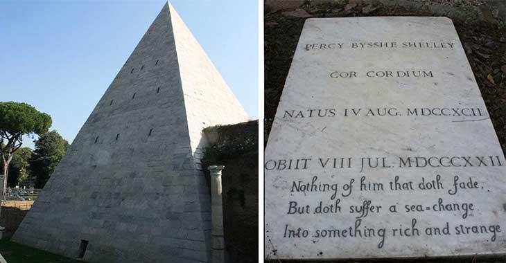 Piramide Cestia e Cimitero acattolico