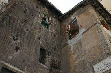 Uno scorcio del ghetto di Roma
