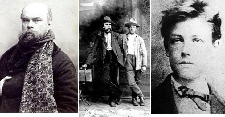 Paul Verlaine e Arthur Rimbaud