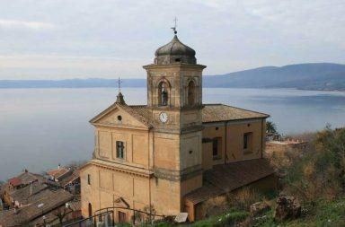 Trevignano, il panorama sul lago di Bracciano