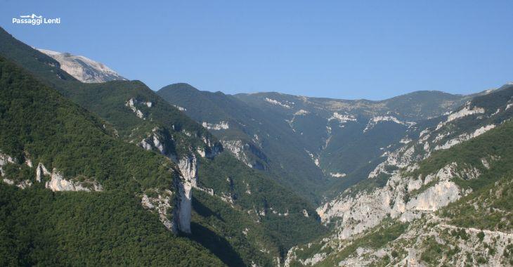 Trekking sulla Maiella: il canyon della Valle dell'Avello