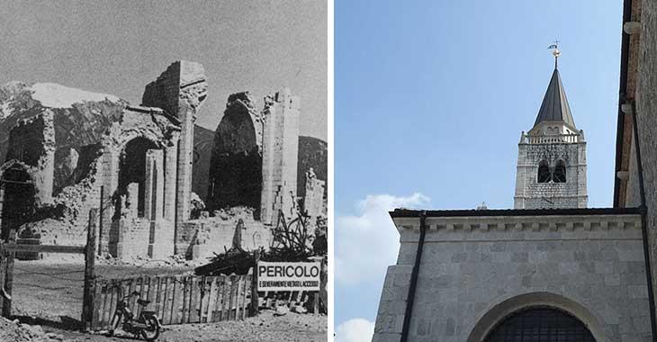 Duomo di Sant'Andrea Apostolo, l'edificio simbolo del terremoto e della ricostruzione