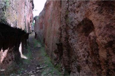 Cava delle Quercete a Barbarano Romano