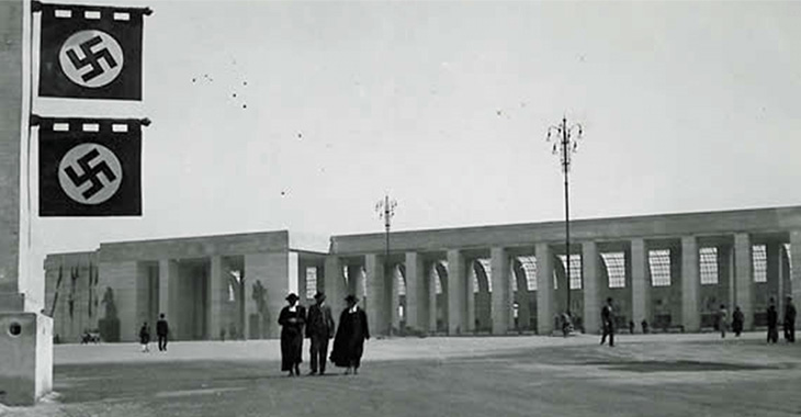 La stazione Ostiense al tempo della visita di Hitler