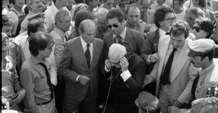 Alfredino Rampi, l'arrivo di Sandro Pertini