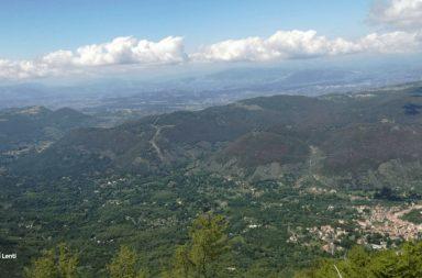 Panorama dal Monte Capreo