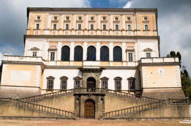 Facciata di Palazzo Farnese a Caprarola